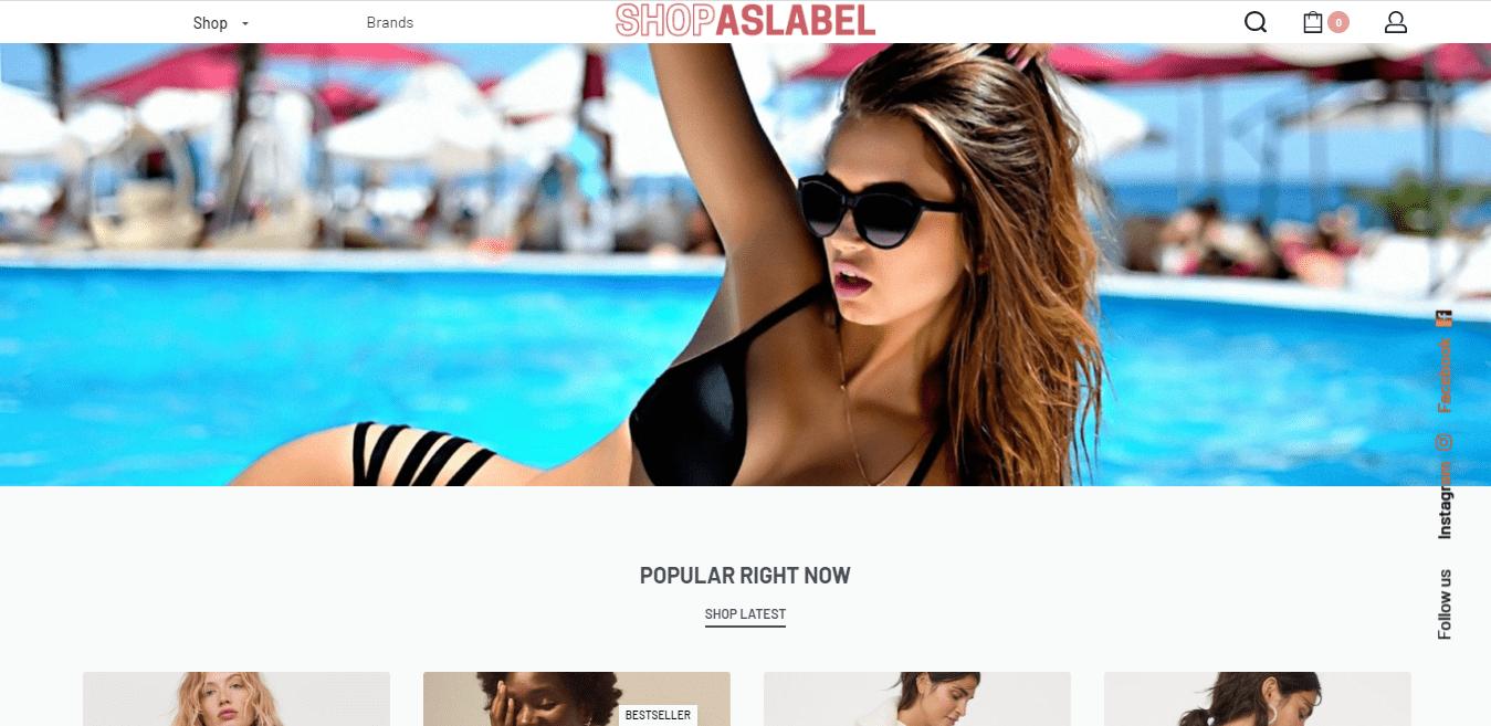 Shopaslabel.com